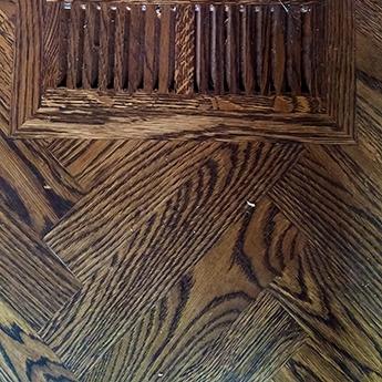 Eye Catching Parquet Hardwood Flooring